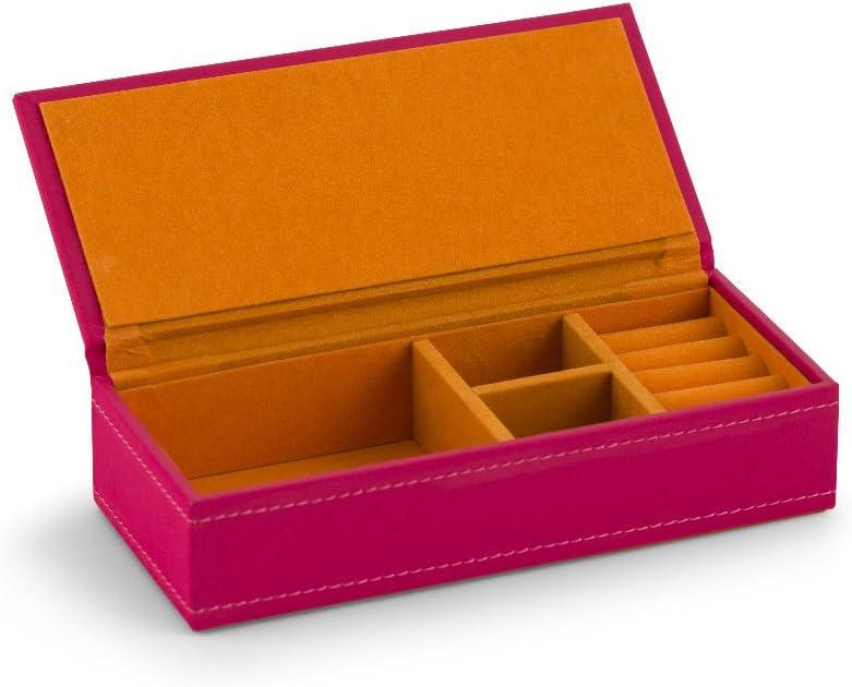 Wedding Star 4459 – 31 – Caja Joyero de piel rosa con naranja ...
