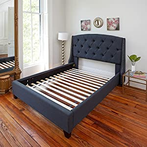 Classic Brands Solid Wood Bed Support Slats | Bunkie Board, Full