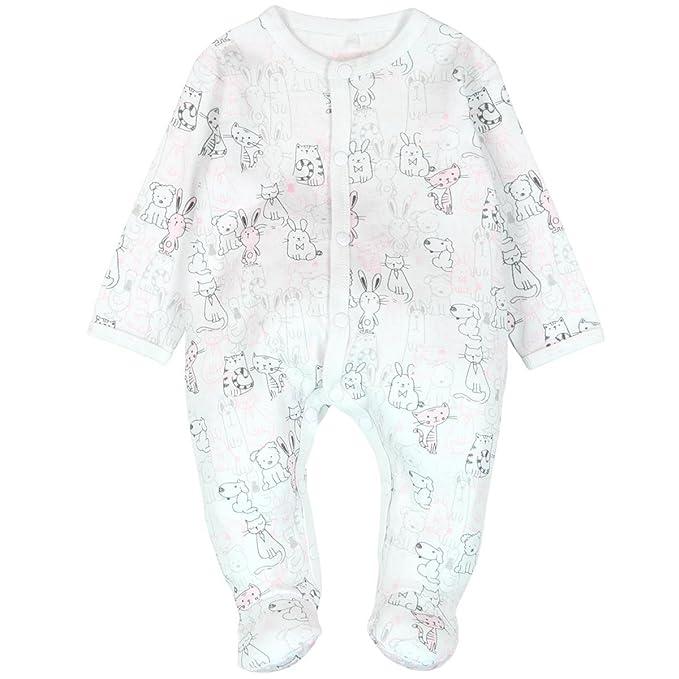 Boboli - Pelele - para bebé niña Rosa 74 cm : Amazon.es: Ropa y ...