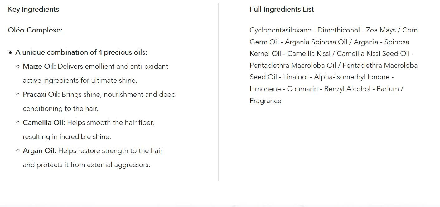 Kerastase Elixir Ultime Oleo-Complexe Versatile Beautifying Oil, 3.4 Ounce