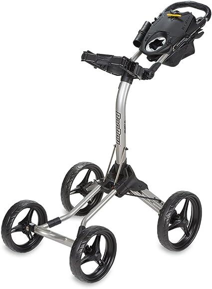Bag Boy Chariot A Pousser Quad Xl Argente Noir Amazon Ca Sports Et Plein Air