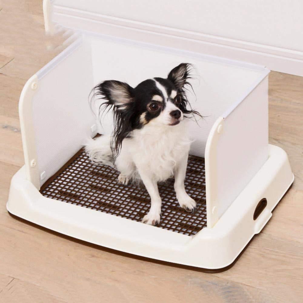 Axiba Animal-WC Semi-Enclosed Perro Aseo Perro orina Lavabo Perro Orinales de Cama: Amazon.es: Productos para mascotas