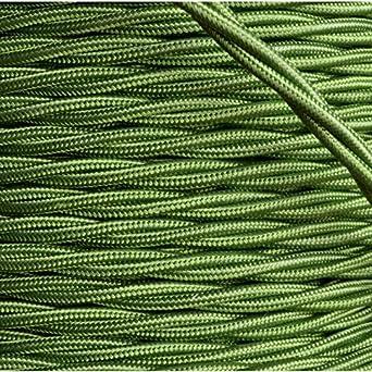 pr/éd/écoup/és haute qualit/é en Art D/éco Emporium Marque recouvert de tissu tress/é torsad/é Flex 3/Core 6/A Beaucoup de Couleurs 3/metres