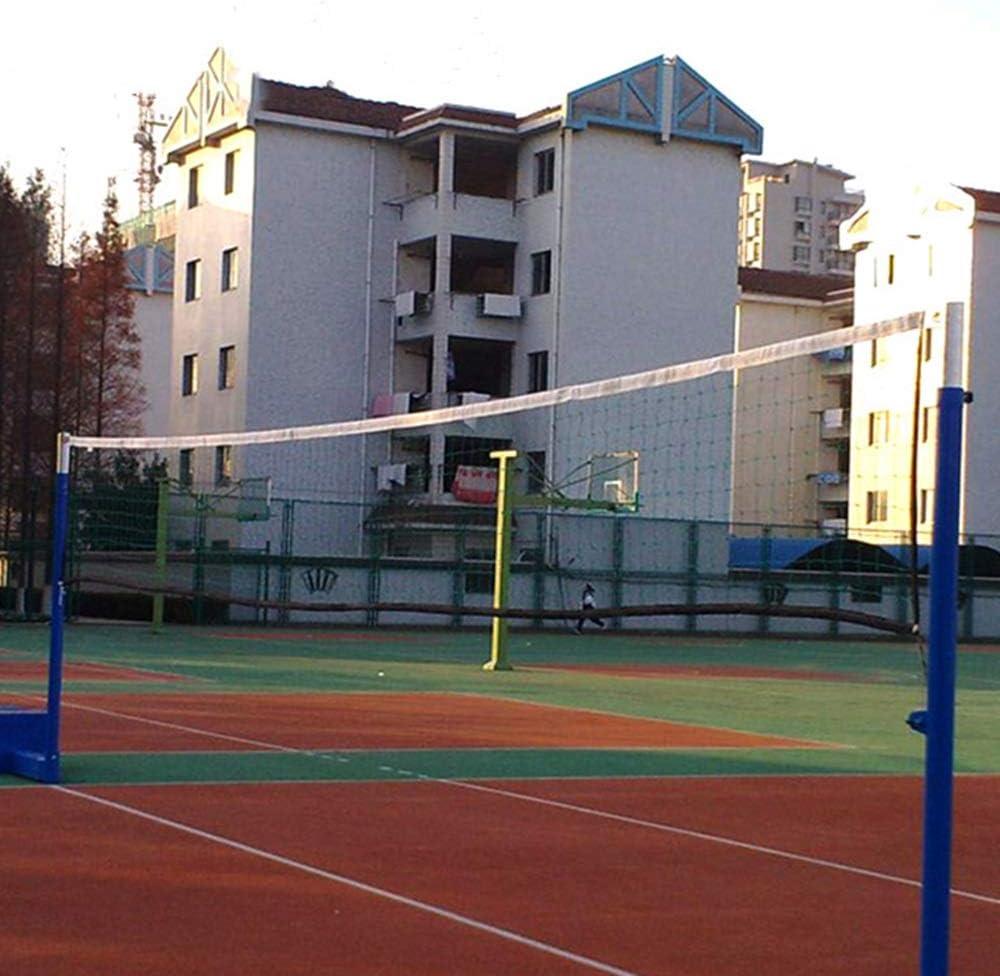Color : Black, Size : 950x100cm HXiaDyG Volleyball Netz College-Wettbewerb Training Spezial Hochwertige Polyethylen Volleyball Net Strand Tragbares Volleyballnetz