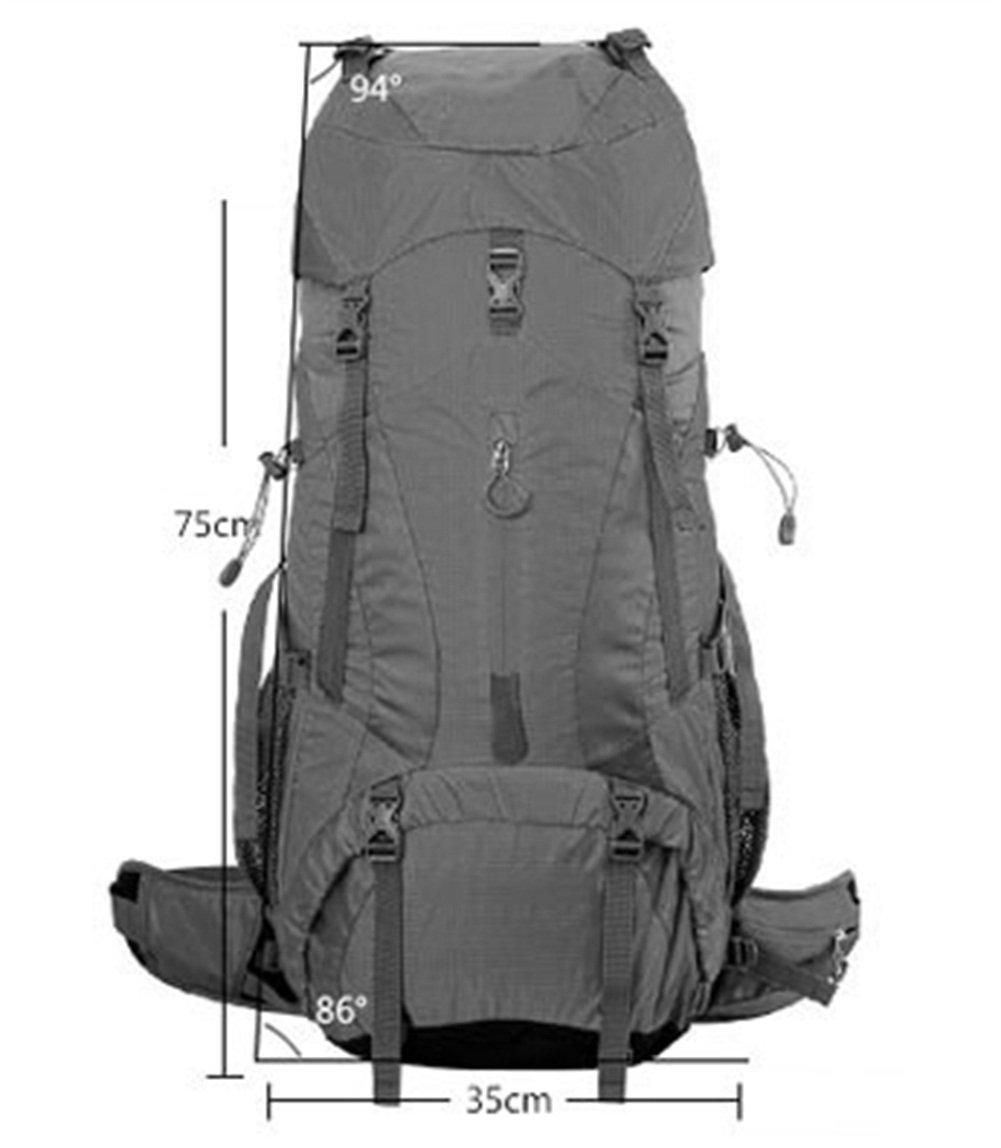 JIE KE Outdoor Bergsteigenbeutel Schulter Ultraleichte Reise Reise Große Kapazität Wasserabweisend Outdoor Wandern Rucksack