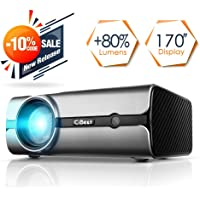 CiBest CB45 +80%-Lumens LED Home Theater Projector
