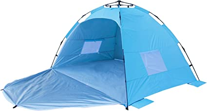 UV Beach Garden Tent Lawn Beach Shade Sun Shelter For 2-3 Person Baby Adult 50