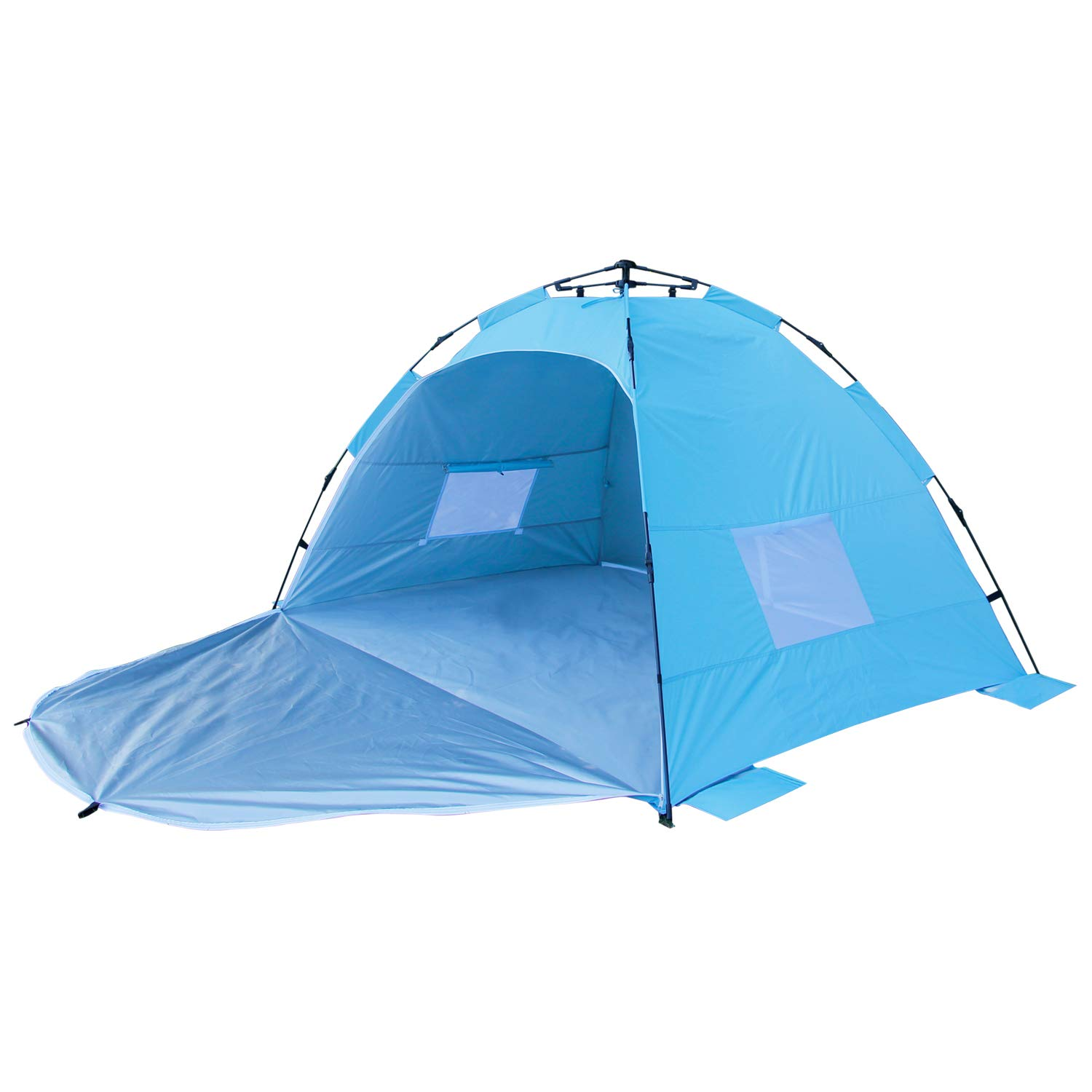 ALPIKA Beach Tent 2-3 Person Camping Tent UV Protection & Waterproof Sun Shelter Automatic Tent for Outdoor by ALPIKA