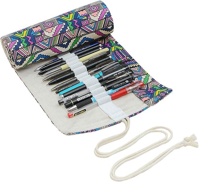 Estuche para lápices de papelería de Beautisun, portátil, resistente al desgaste, estuche de papelería creativo para estudiantes, gomas de borrar y otros artículos de papelería: Amazon.es: Bricolaje y herramientas
