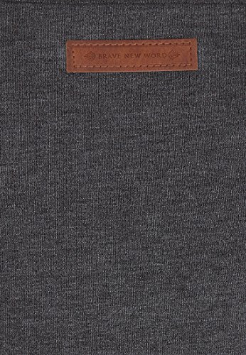 L Flavour Dudelsack Big Melange Anthracite Naketano Sweatshirt Female vpgxw0q
