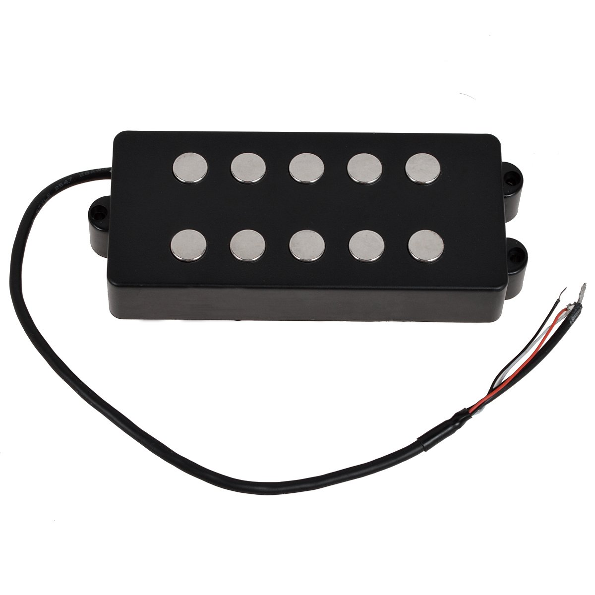 Black 5 String Bass Guitar Pickup Humbucker For Music Man Bass Coil Tap by Kmise (Image #3)