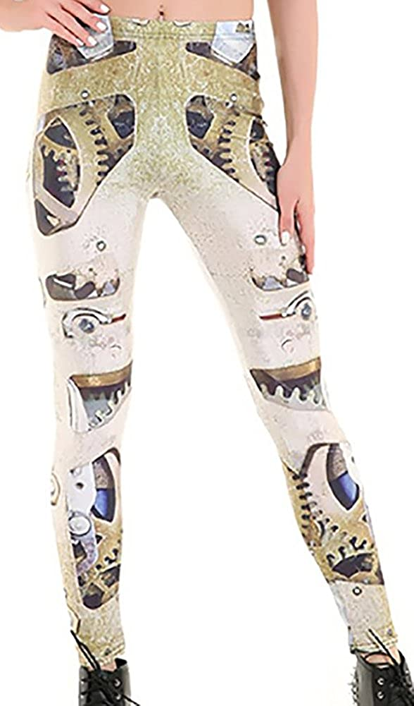0f9b59a1ec8f1 Sister Amy Women's High Waist Nation Flag Printed Ankle Elastic Tights  Legging at Amazon Women's Clothing store: