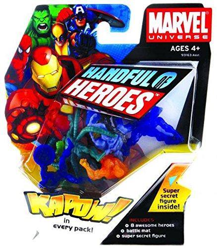 Marvel Universe Handful of Heroes Collectible Figure (List All Marvel Super Heroes)