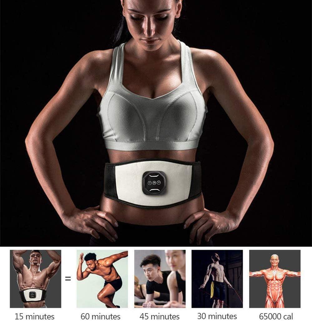 elektrische Slimmerbelt f/ür K/örper Taillen-Massage Vibrations-G/ürtel Fat Burning Gewicht zu verlieren DSYYF Bauchmuskel-G/ürtel