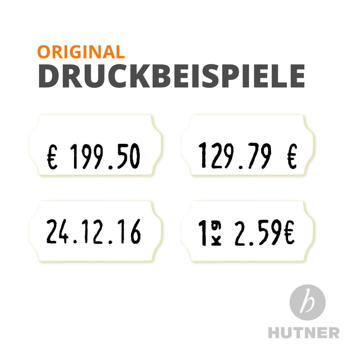 Auszeichner Preisauszeichner UNO 10-stellig 7.500 Etiketten Preis Datum Nummer