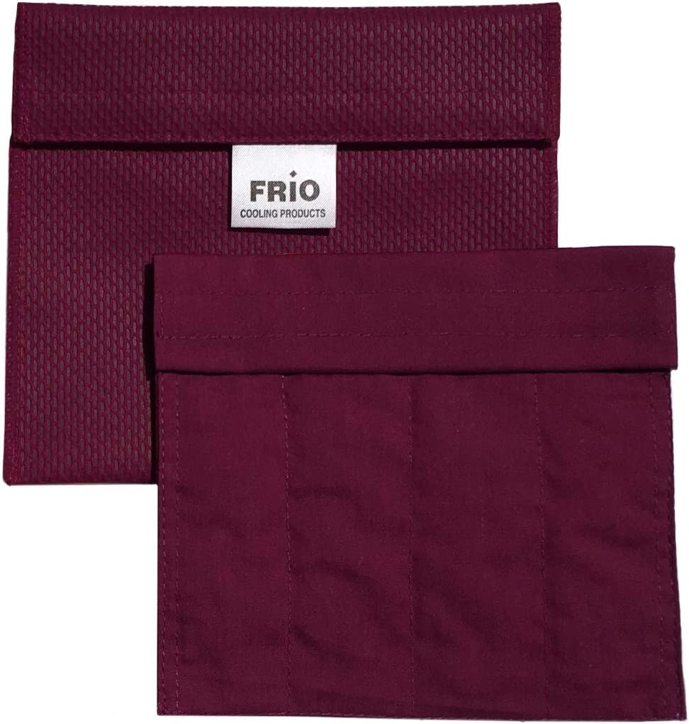 Frio Cooling Wallet - Eye Drop Wallet - Burgundy-Keep Eye Drop Medication Cool up to 45 Hours Without Ever Needing Refrigeration! Accept NO Imitation!