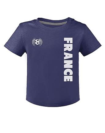 Cadeau Fan de Football France Supporters T-Shirt Bébé Unisex  Amazon.fr   Vêtements et accessoires 87aef30f0c8