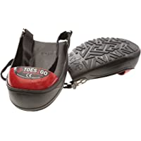 Impacto T2GUM Toes2Go Protective Safety Boot and Shoe Covers, Medium, Red