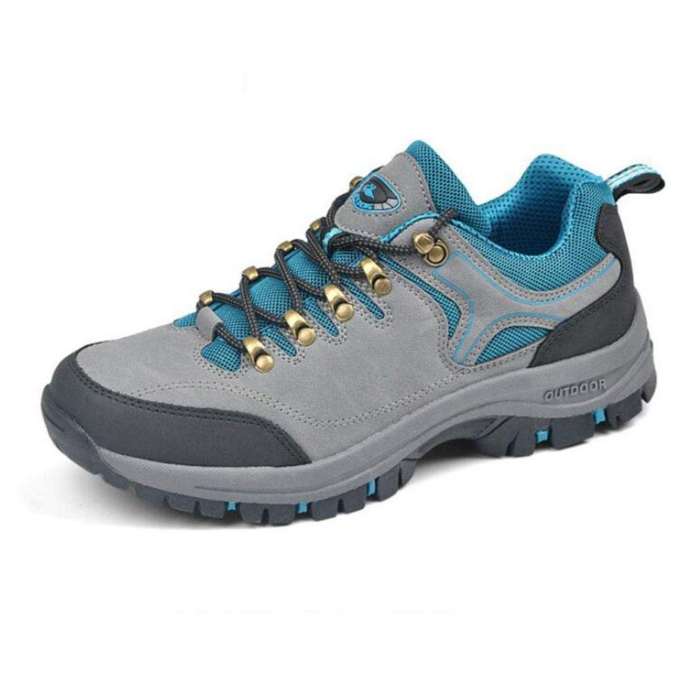 Oudan Sportschuhe Schuhe Schuhe Schuhe Schuhe Wanderschuhe Anti - Skid (Farbe : Blau, Größe : 44)