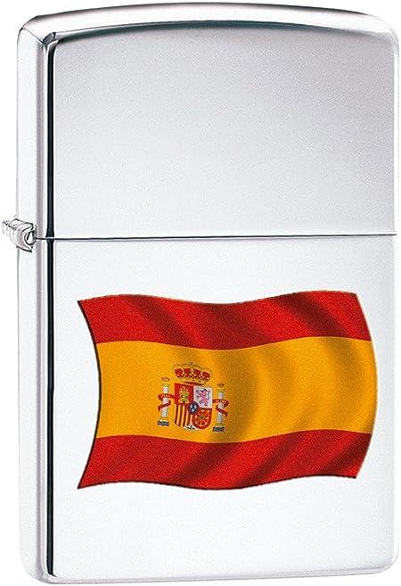 Encendedor Zippo Bandera ESPA–a, Modelo 233: Amazon.es: Hogar