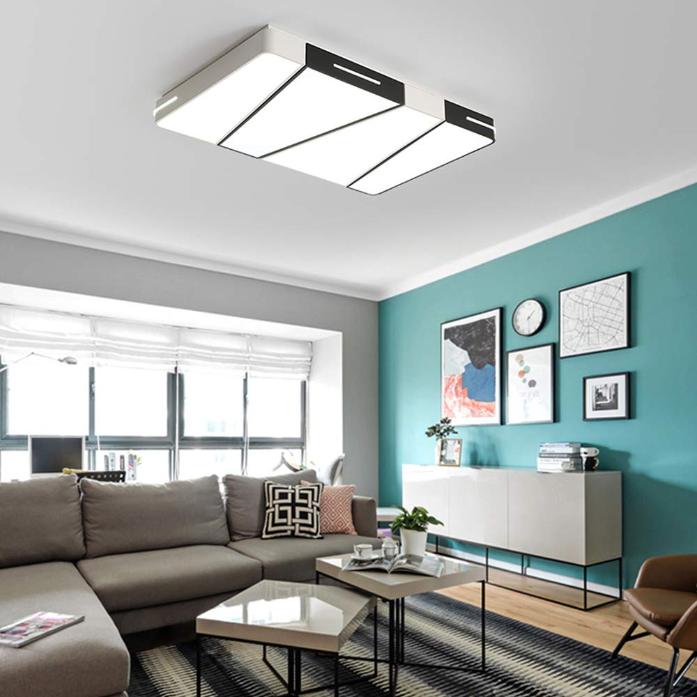 Amazon.com: Sheen Modern Square Ceiling Light Fixture, Led ...