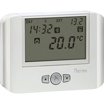 Vemer - Termostato GSM, color blanco: Amazon.es: Bricolaje y herramientas