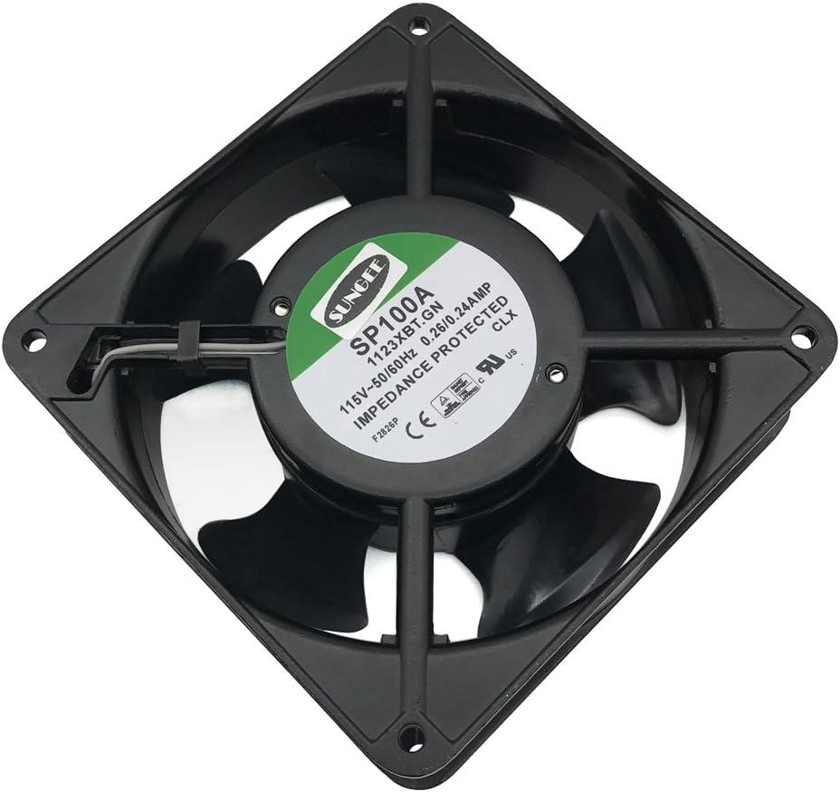 SP100A Fan 1123XBT.GN 120mm x 120mm x 38mm 117 12038 CFM Cooling Fan (1123XBT)