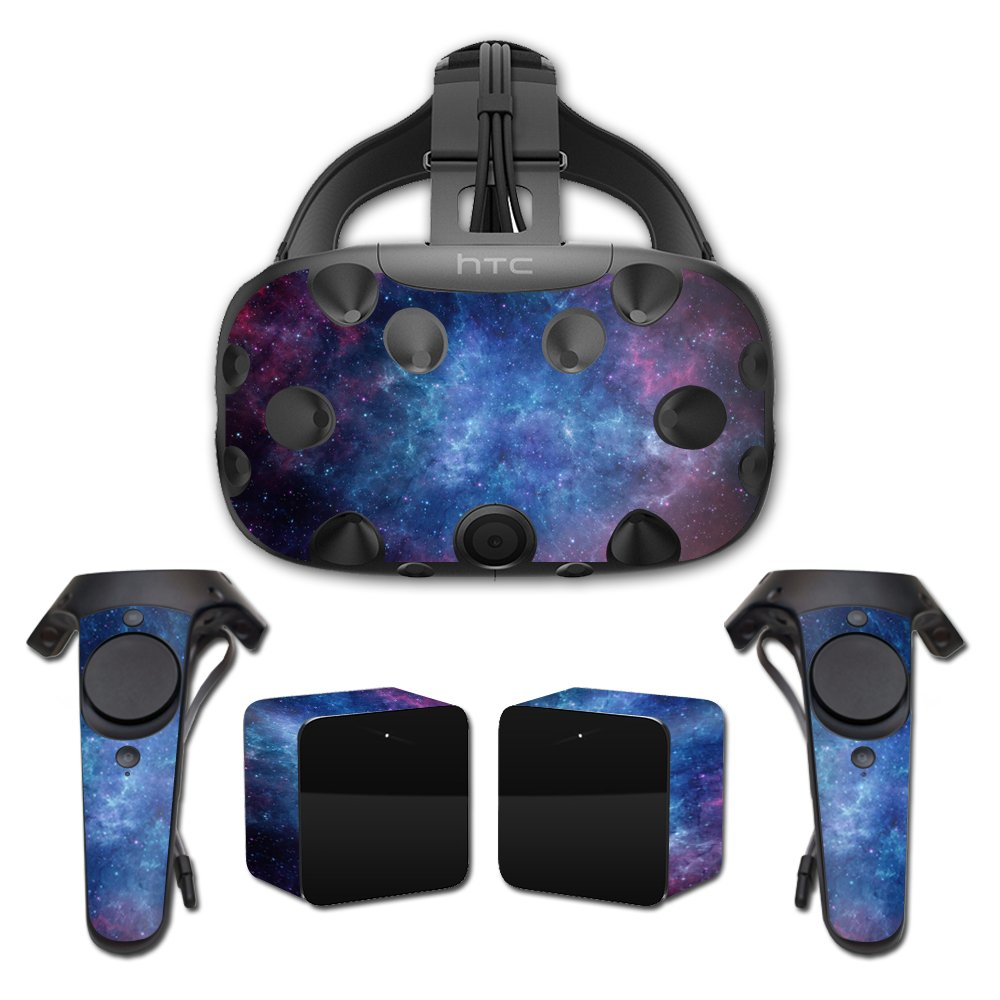 MightySkins Skin Compatible with HTC Vive Full Coverage - Nebula | Protective, Durable, and Unique Vinyl Decal wrap Cover | Easy to Apply, Remove, and Change Styles | Made in The USA by MightySkins