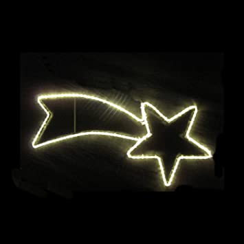 Led Weihnachtsbeleuchtung Komet.Iku Led Sternenschweif 120x55 Cm Weihnachten Komet Mit Warmweissem