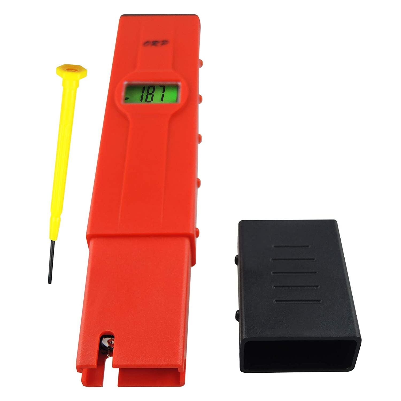 1999mV ~ 1999mV Millivolts Pen-type Digital Redox ORP Water Meter Tester with Backlight LCD Pool Aquarium Hydroponics Spas Water System