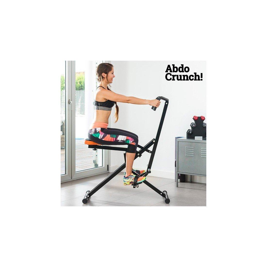 Apolyne Abdo Crunch - Ejercitador Total de Fitness, Negro / Rojo ...