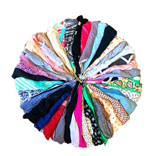Morvia Variety of Thongs for Women Pack Sexy Cute Assorted Colors Prints Underwear Panties (28 Pcs, S) ()