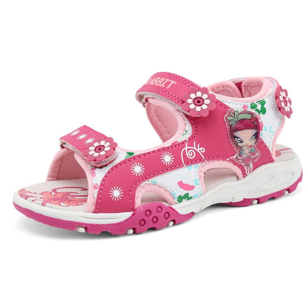 Girls' Summer Outdoor Beach Sports Breathable Opend-Toe Light Athletic Water Causal Sandals(Toddler/Little Kid)
