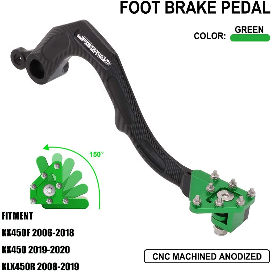 AnXin Motorcycle Rear Manufacturer regenerated product Brake Pedal for Lever Foot Kawasaki famous KX450F