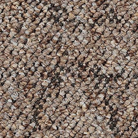 Pireo Schlingen-Teppichboden in der Farbe Blaugrau Meterware in der Gr/ö/ße 250 x 400 cm zugeschnittener Bodenbelag gem/ütliche Teppichfliesen weiche /& strapazierf/ähige Auslegeware