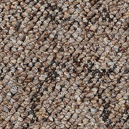 gem/ütliche Teppichfliesen weiche /& strapazierf/ähige Auslegeware Pireo Schlingen-Teppichboden in der Farbe Grau zugeschnittener Bodenbelag Meterware in der Gr/ö/ße 250 x 400 cm