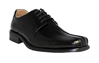 NXT Italy collection mens size 13 Black leather upper laced shoes