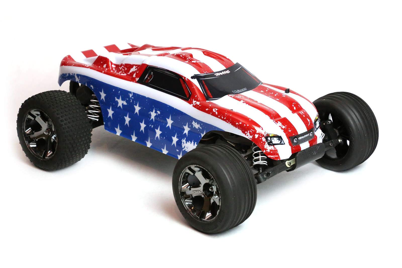 SummitLink Compatible Custom Body Flag Strip Style Replacement for 1/10 Scale RC Car or Truck (Truck not Included) R-ST-01