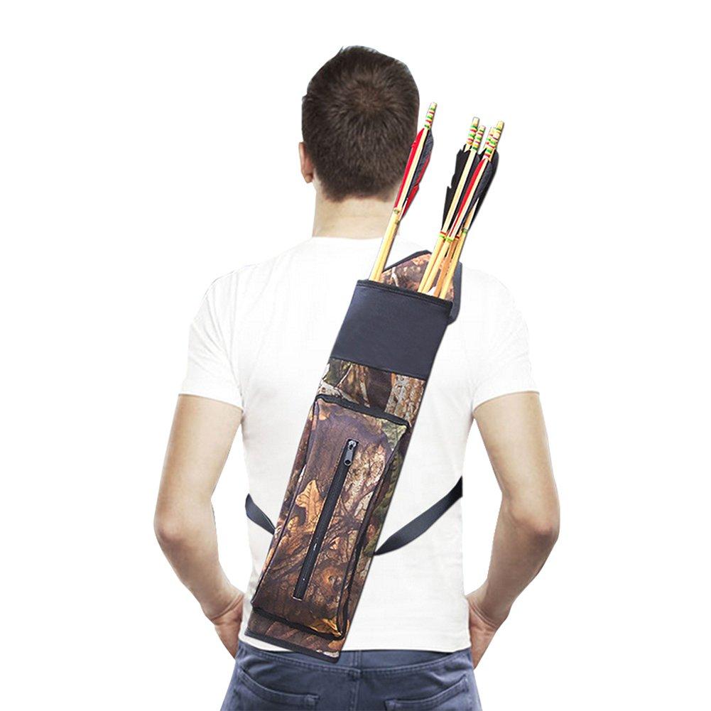 Multifunktional Qualit/ät Oxford Tuch Ultralight Bogenschie/ßen Pfeil K/öcher Halterung Schultertasche Dilwe K/öcher Tasche