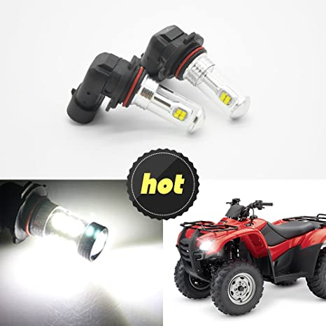 Amazon.com: LED Headlight bulbs,For HONDA RINCON RANCHER Headlight CREE LED Light Bulbs White 80W 3000LM 6000k (pack of 2): Automotive