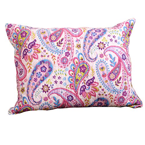 (Rod's Pony Paisley Standard Pillow Sham)