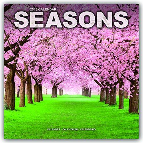 Photography Calendar - Seasons Calendar - Calendars 2017 - 2018 Wall Calendars - Sunset Calendar - Photo Calendar - Seasons 16 Month Wall Calendar by Avonside