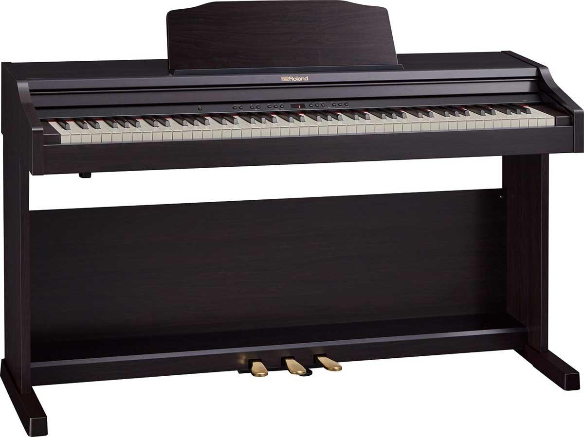 ローランド 電子ピアノ(クラシックローズウッド調仕上げ)【高低自在椅子&ヘッドホン&楽譜集付き】Roland Piano Digital RP501R-CRS B01M0B3UTZ
