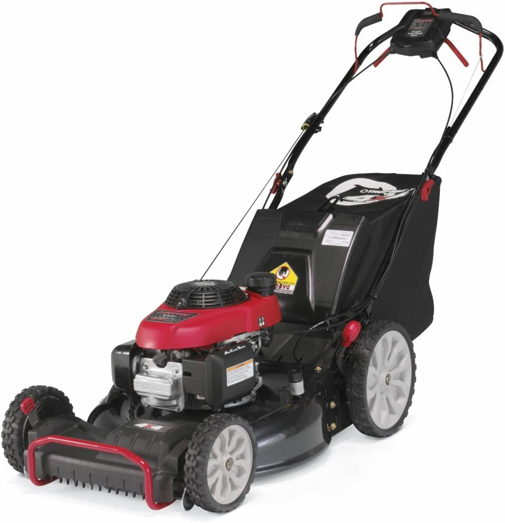 Troy-Bilt TB490 XP 21-Inch 1 90cc 2-in-1 4×4 Self-Propelled Mower