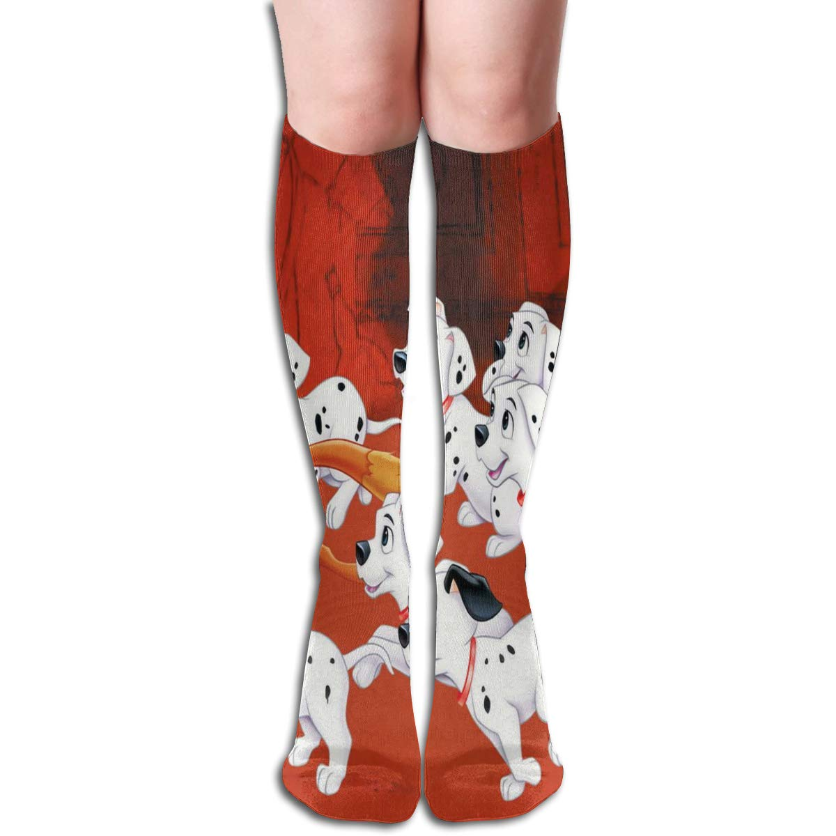 Stretch Stocking Very Puppy And Fox Soccer Socks Over The Calf Amazing For Running,Athletic,Travel