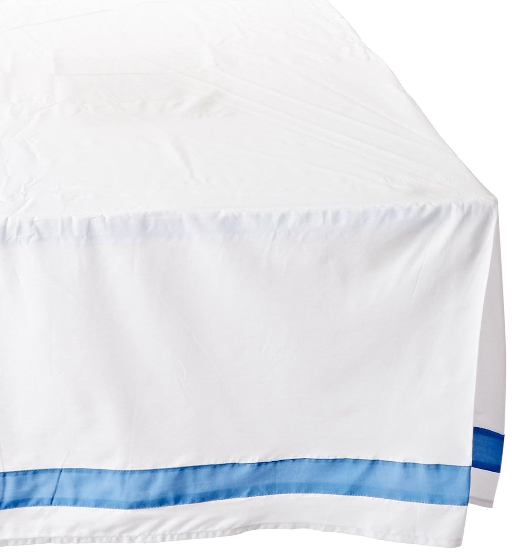 Teen Vogue Ikat Blue Full Bedskirt