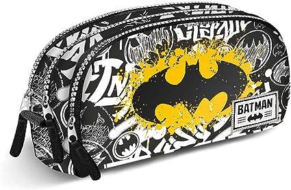 Estuche escolar doble Gotham City Batman Dc Comic: Amazon.es: Oficina y papelería