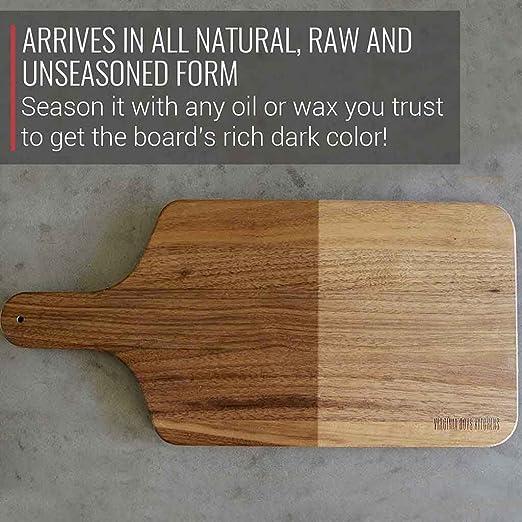 Amazon.com: Virginia - Tabla de cortar de madera para niños ...