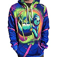 Electro Threads Men's Sloth Life Pullover Hoodie