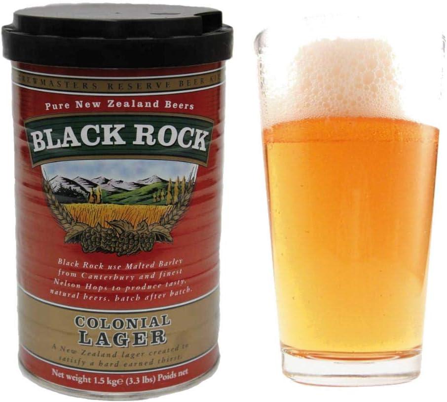 Black Rock 21425 - Kit Cerveza Colonial Lager